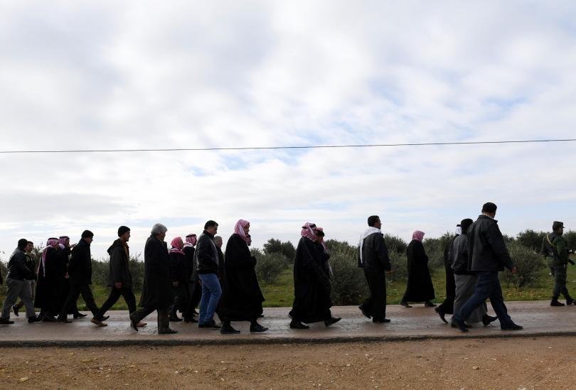 В сирийския град Манбидж започна изтегляне на кюрдски бойци като