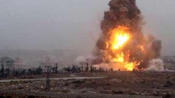 Въздушни удари и сражения в Алепо