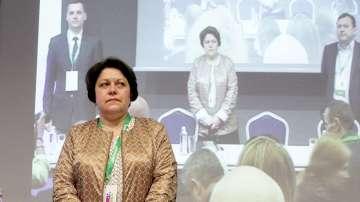 Татяна Дончева беше преизбрана за председател на Движение 21