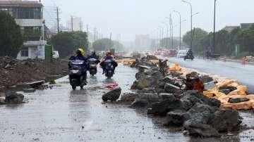 18 жертви на тайфуна Лекима в Китай, 14 души са в неизвестност