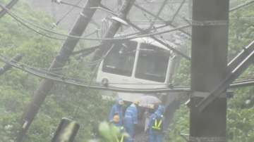 Токио в плен на тайфуна Миндуле