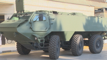 Представиха най-новата бронирана машина за пехотата