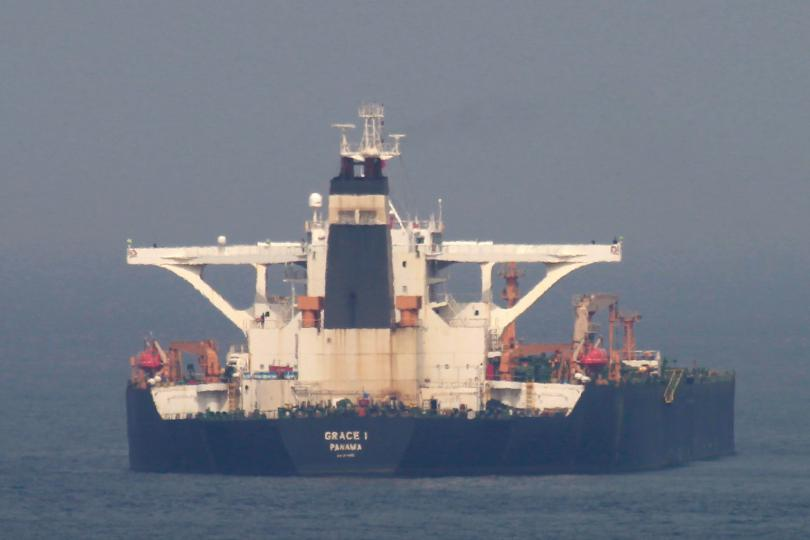 Съединените щати издадоха заповед за задържане на иранския петролен танкер