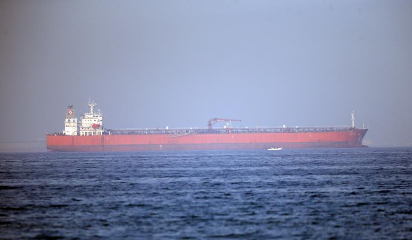 Един от двата танкера, които бяха атакувани в Оманския залив,