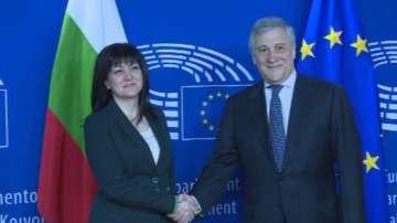 Антонио Таяни ще участва в София в интерпарламентарна среща за Западните Балкани