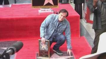 Тарантино със звезда на славата