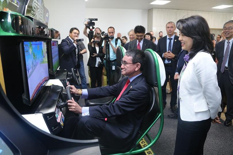 снимка 1 Японски външен министър посети България за пръв път от 12 години