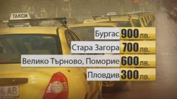 850 лева патентен данък за такситата в София