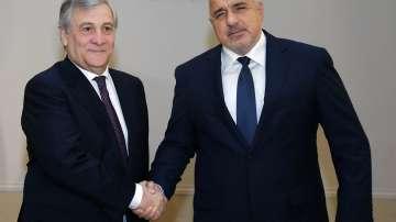 Антонио Таяни: За ЕС ситуацията на Балканите е приоритет