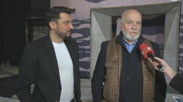 Актьорите от театър Българска армия с изненада за Ивановден