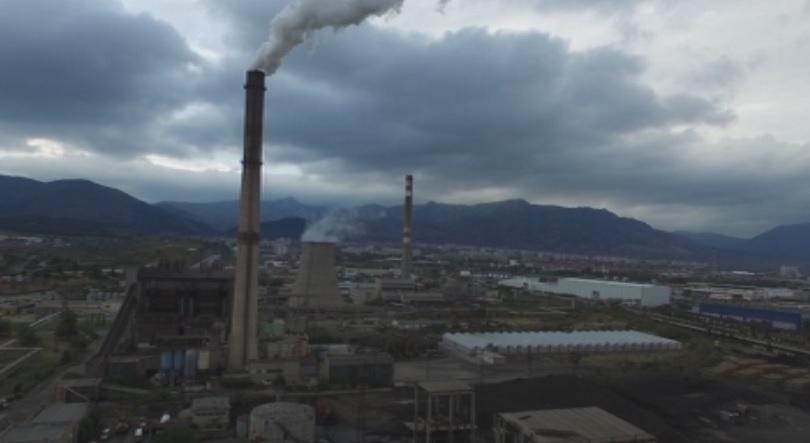 Прехвърлила се искра от самозапалили се въглища е причината за