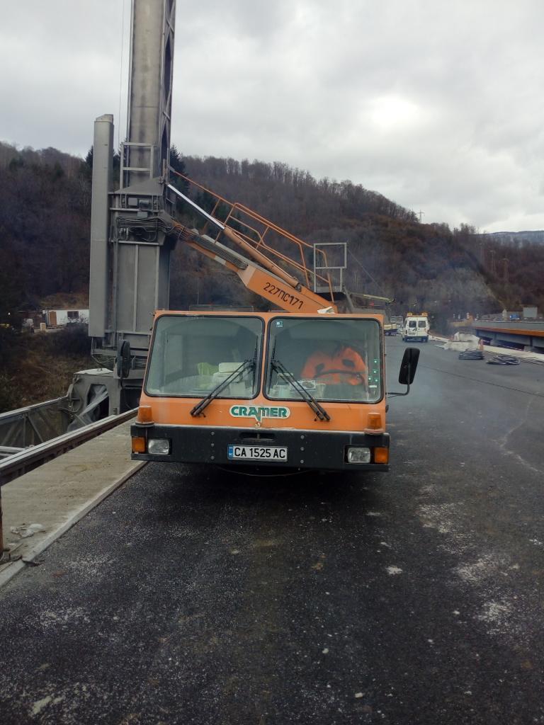 снимка 4 Автомагистрали ЕАД купува нови камиони и тежка строителна техника