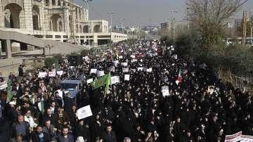 Анти и проправителствени протести се проведоха в Иран