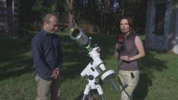 С нов телескоп ще изследват Слънцето в обсерваторията в Борисовата градина
