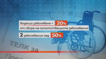 Организации на хората с увреждания отхвърлиха предложените промени за ТЕЛК