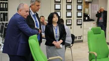 Енергийният министър инспектира ремонта на АЕЦ Козлодуй