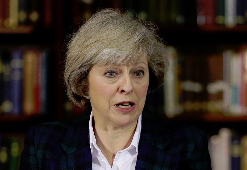 По време на визитата си във Великобритания Доналд Тръмп посъветвал