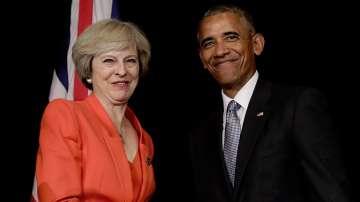 Барак Обама се срещна с Тереза Мей в рамките на форума на Г-20