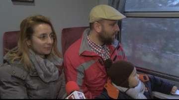 България по Коледа през прозореца на Родопската теснолинейка