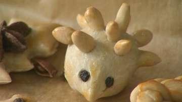 Коледна украса от тесто