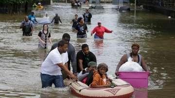Наводнение в Тексас