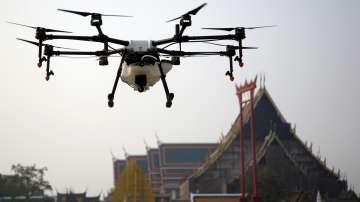 Тестват дронове срещу мръсния въздух в Тайланд