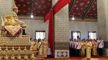 Приключи първият ден от церемониите по коронясването на краля на Тайланд