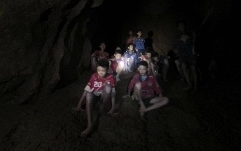 спасените пещера тайланд дадат пресконференция