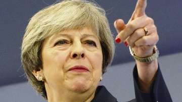 Британският премиер Тереза Мей произнася дългоочаквана реч за Брекзит
