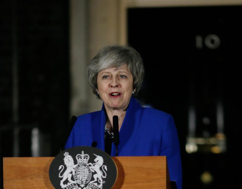 Снимка: Тереза Мей започна консултации с опозицията в търсене на решение за Брекзит