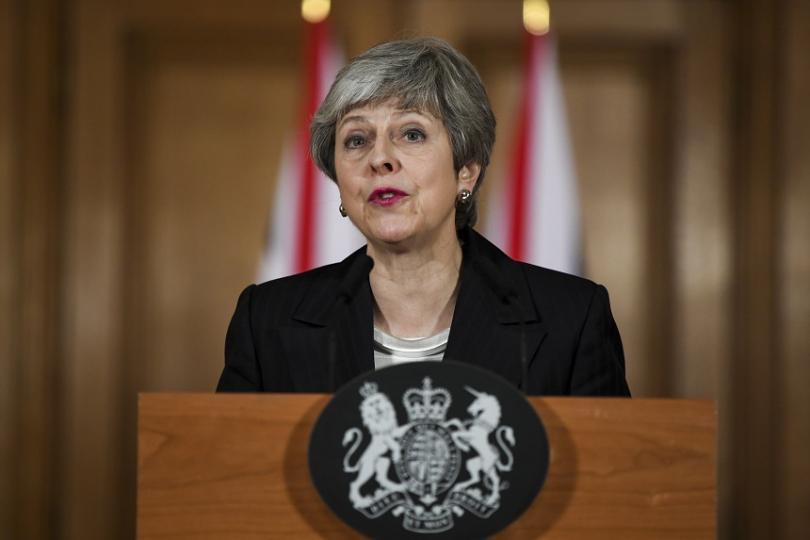 Великобритания няма да напусне ЕС на 29 март, обяви в