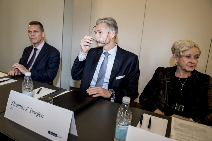 Оставка на шефа на най-голямата датска банка. Главният изпълнителен директор