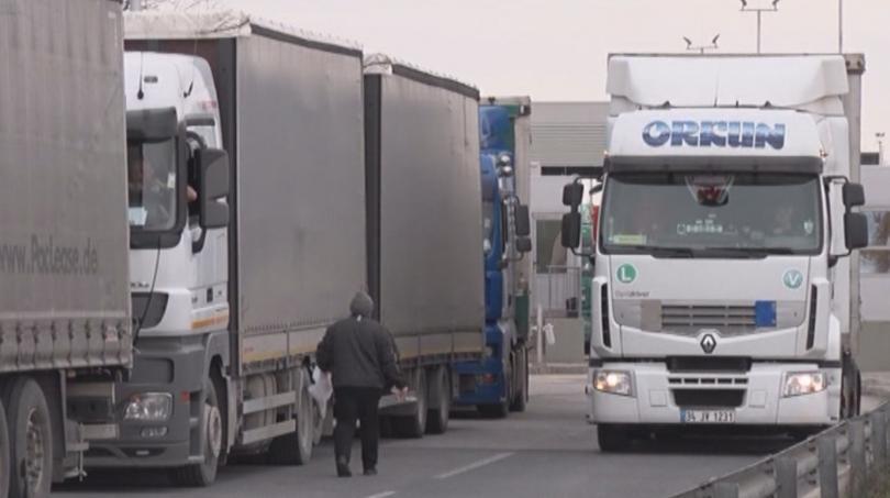 турция въвежда промяна трафика тежкотоварни автомобили границата