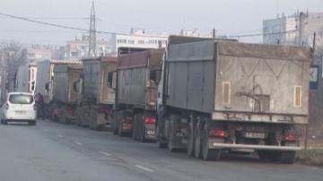 Протестиращи в Силистра настояха тежкотоварният трафик да бъде изведен от града