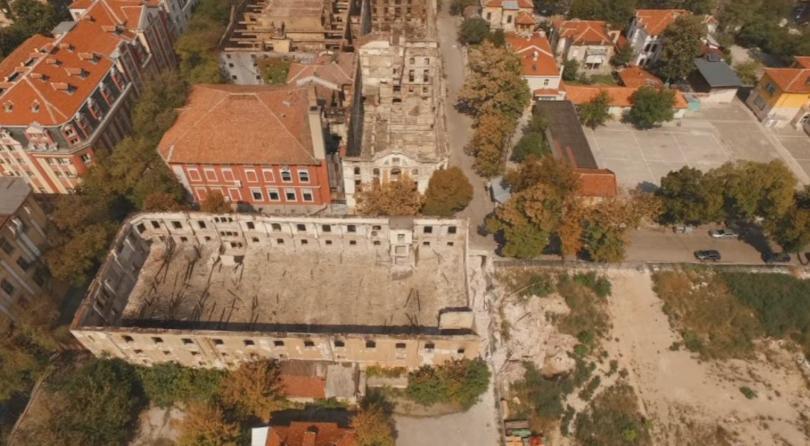 снимка 1 Невярна е информацията за предстоящо разрушаване на тютюнев склад в Пловдив