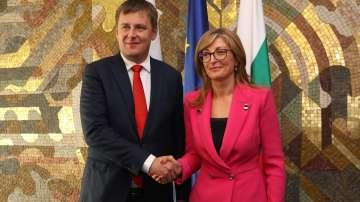 Министърът на външните работи на Чешката република на посещение у нас