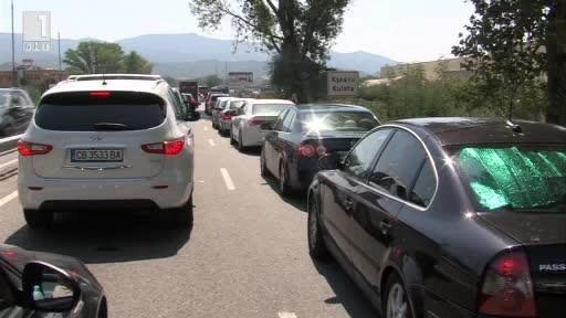 По два часа чакаха колите на граничния пункт Кулата