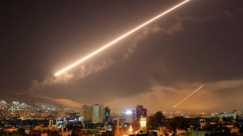 Хронологията на въздушните удари в Сирия