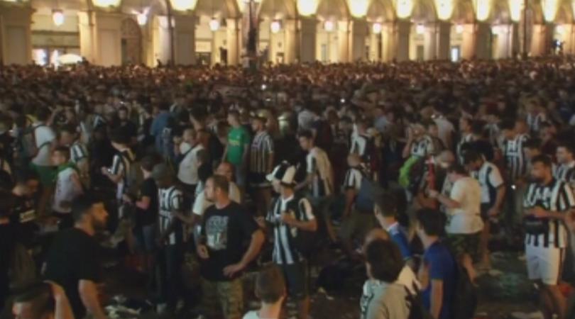 Над 1000 са пострадалите в Торино след фалшивата тревога