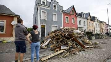 19 души са ранени след торнадото в Люксембург