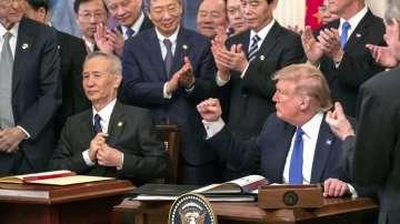 САЩ и Китай подписаха първата част от търговското споразумение