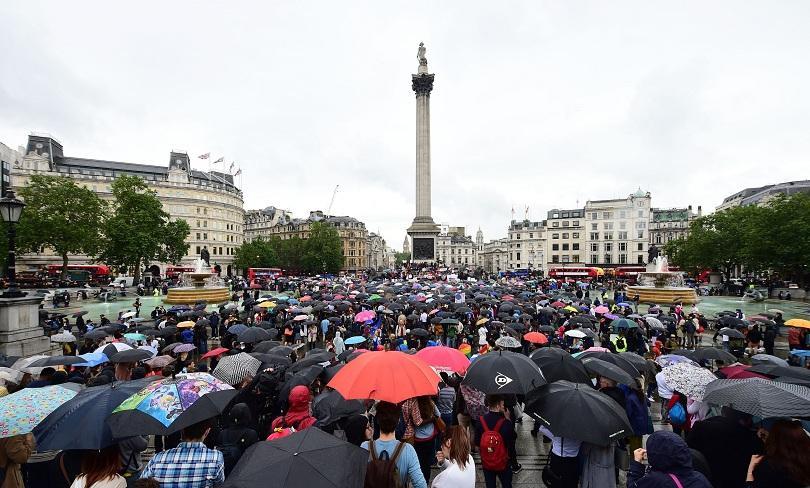 Пореден протест в Лондон срещу Брекзит