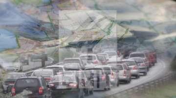 След коледните празници: Интензивен трафик към столицата