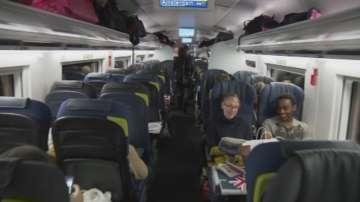 Влакове Евростар между Лондон и Амстердам