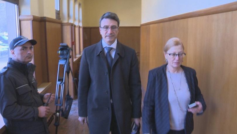 Снимка: Пореден фалстарт на делото срещу Дянков, Трайков и Прокопиев