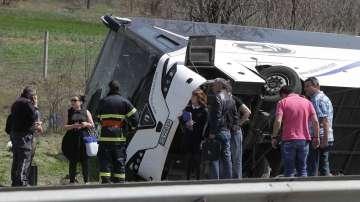 """Продължава разследването за катастрофата с автобус на АМ """"Тракия"""""""