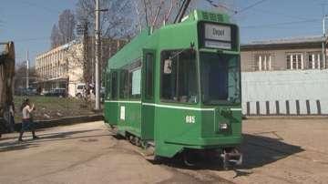 Дарените от Швейцария трамваи тръгват по софийските улици
