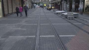 Трамваите тръгват тестово по ул. Граф Игнатиев