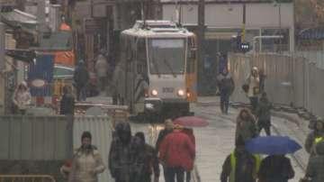 "Запалиха се спирачките на трамвай на бул.""Константин Величков"", няма пострадали"
