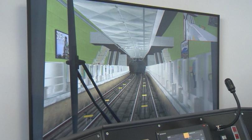 75 машинисти преминават през специално обучение за управлението на влак